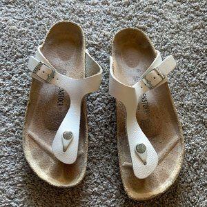 Berkinstock  Birko-Flor Toe Post Thong Sandals